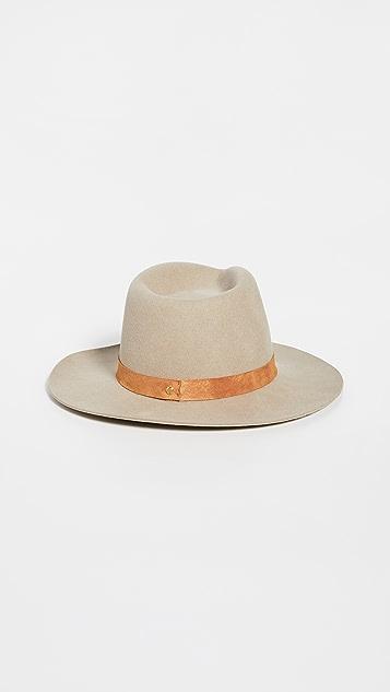Janessa Leone Ross 可折叠费朵拉帽