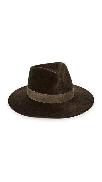 Janessa Leone Auggie Felt Hat