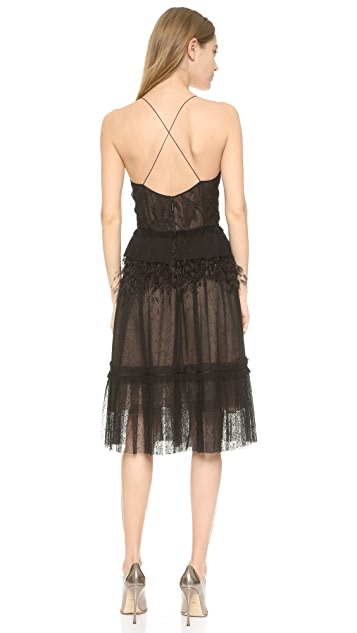 Jason Wu Collage Lace Slip Dress