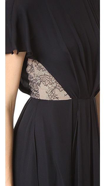 Jason Wu Silk Double Georgette Dress