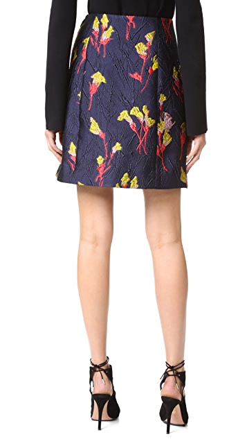 Jason Wu Floral Fields Jacquard Skirt