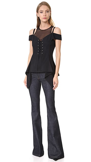 Jason Wu Cold Shoulder Top