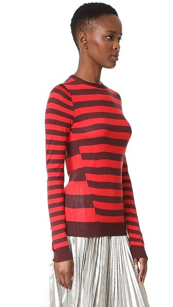 Jason Wu Crew Neck Sweater