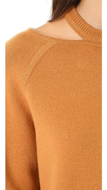 Jason Wu Cashmere Sweater with Cutouts
