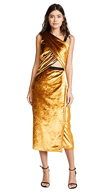 Jason Wu Devor V Neck Dress