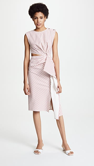 Jason Wu Cutout Twist Knot Dress
