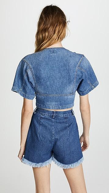 Jean Atelier Kimono Top