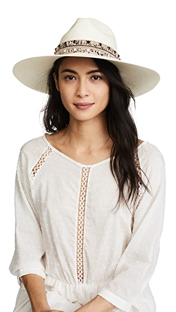 Jaunt The Paros Large Brim Panama Hat