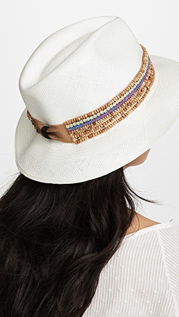 Jaunt The Anacapri Small Brim Panama Hat