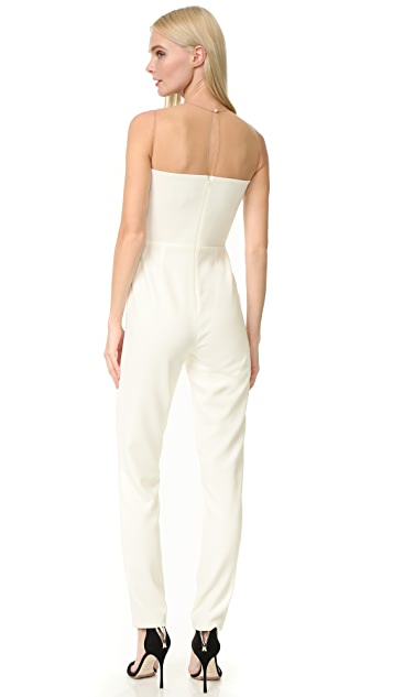 Julianna Bass Rachel Pleated Front Jumpsuit