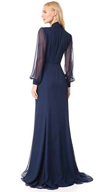 Julianna Bass Mieke Gown