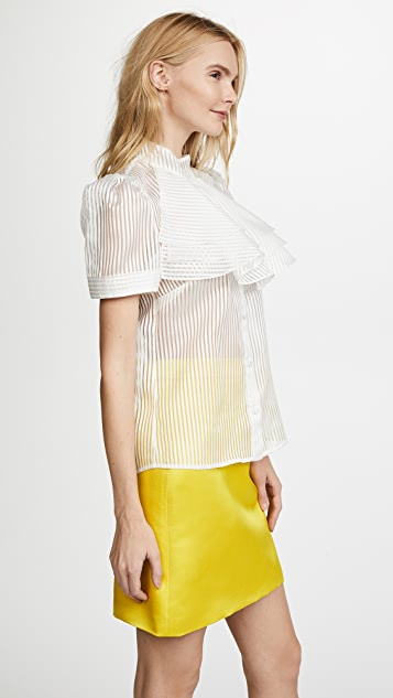 Julianna Bass Fredericka Blouse