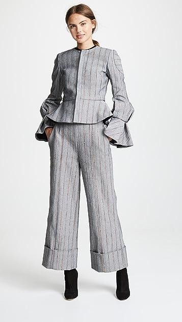 Julianna Bass Укороченные брюки Carolyn