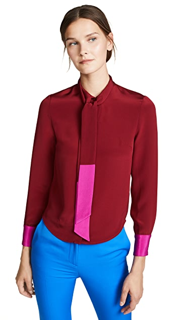 Julianna Bass Peer Blouse