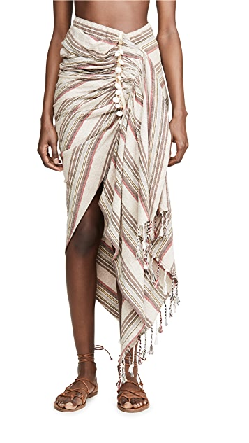 Just BEE Queen Tulum Cover Up Skirt