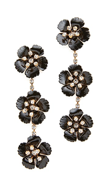 Jennifer Behr Belinda Dangle Earrings
