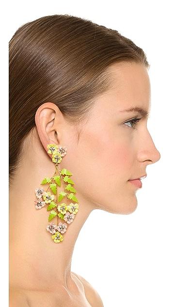 Jennifer Behr Aviva Chandelier Earrings