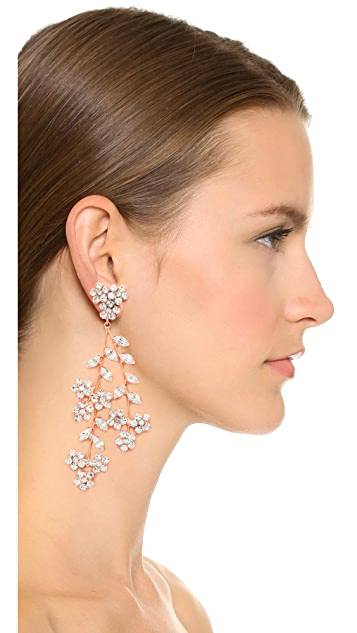 Jennifer Behr Violette Chandelier Earrings