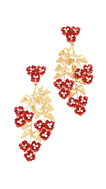 Jennifer Behr Aviva Chandelier Earrings