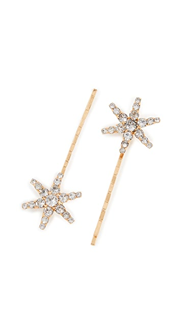 Jennifer Behr Star Clip Set of 2