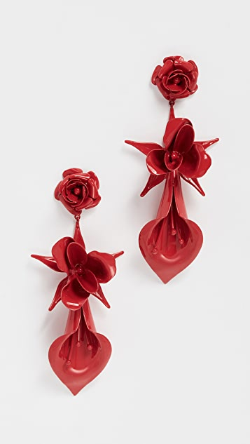 Jennifer Behr Rosette Earrings