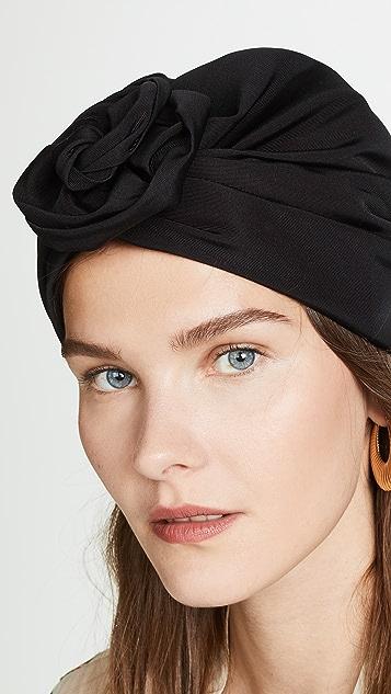 Jennifer Behr Faille Rosette Headband