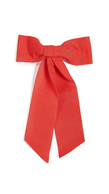 Jennifer Behr Alice Grosgrain Bow Barrette