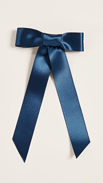 Jennifer Behr Satin Bow Barrette
