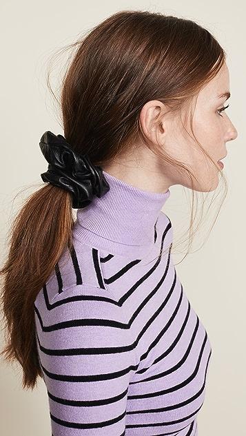 Jennifer Behr Leather Scrunchie