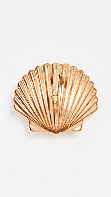 Jennifer Behr Madeleine Shell Earrings