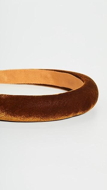 Jennifer Behr Tori Velvet Headband