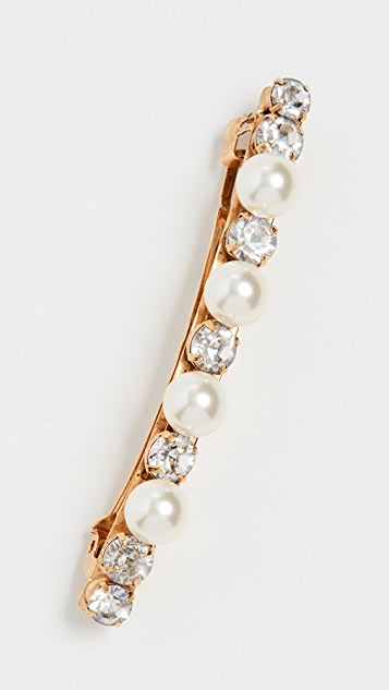 Jennifer Behr Crystal and Pearl Barrette