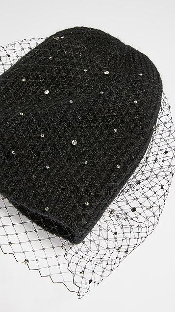 Jennifer Behr Michelle Voilette Bubble 毛线帽
