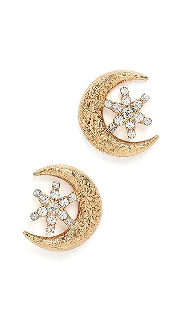 Jennifer Behr Callisto Stud Earrings