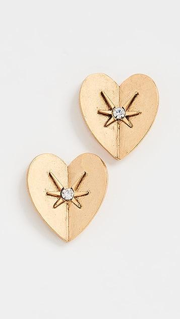 Jennifer Behr Romie Stud Earrings