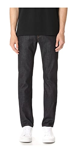 J Brand - Kane Raw 11.5oz Slim Straight Jeans