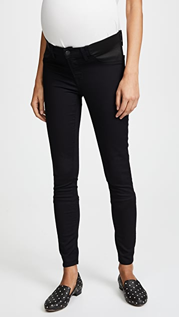 J Brand 3401 Maternity Legging Jeans - Pitch