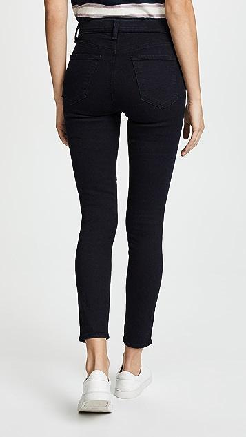 J Brand High Rise Alana Crop Jeans