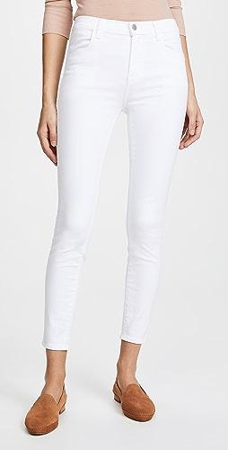 J Brand - Alana 高腰九分牛仔裤