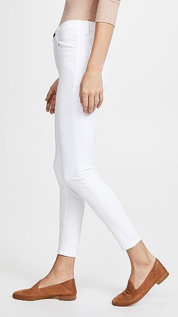 J Brand Alana 高腰九分牛仔裤