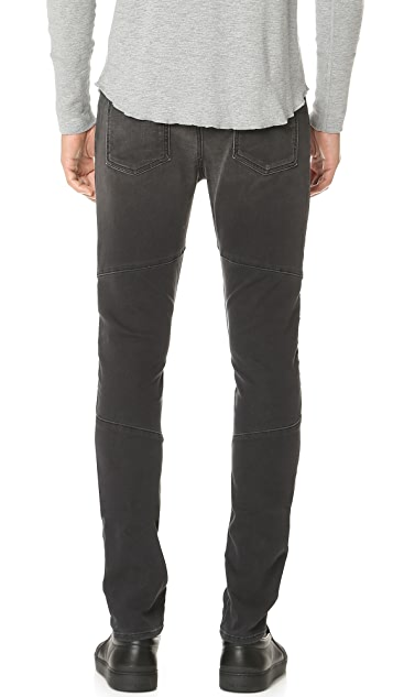 J Brand Bearden Moto French Terry Jeans