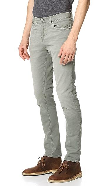 J Brand Tyler Slim Fit Stretch Twill Jeans