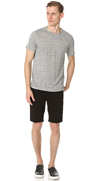J Brand Tyler French Terry Cutoff Shorts