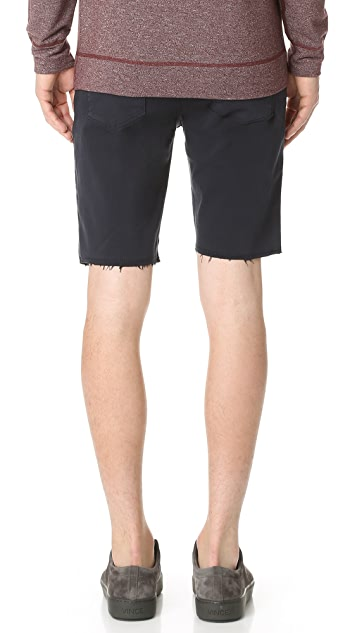 J Brand Tyler French Terry Cut Off Shorts