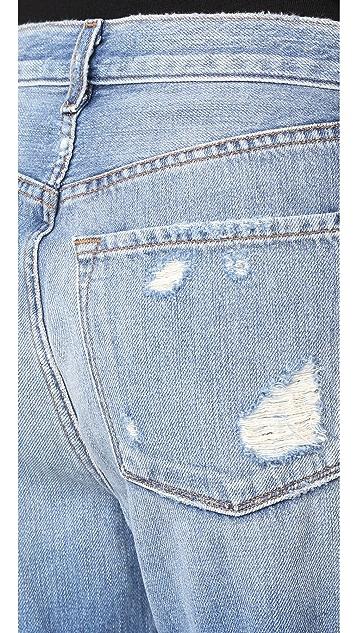 J Brand Ivy High Rise Crop Straight Jeans