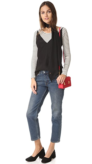 J Brand Lucy Silk Camisole