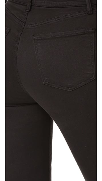 J Brand Carolina Super High Rise Flare Jeans