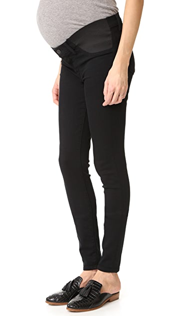 J Brand Mama J Super Skinny Maternity Jeans - Seriously Black
