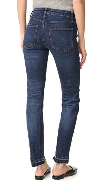 J Brand Amelia Straight Step Fray Jeans