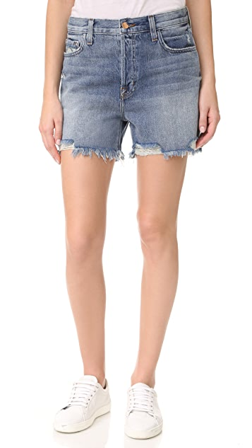 J Brand Ivy High Rise Shorts